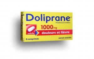 une boîte de Doliprane 1000 comprimé